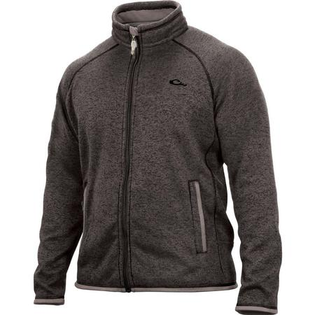 DRAKE HERITAGE FLEECE FULL ZIP