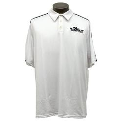 ALLESON MEN`S FFO GAME DAY POLO WHITE/CHARCO