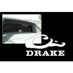 DRAKE WINDOW DECAL WHITE