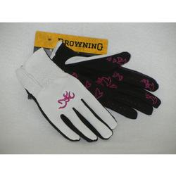 BROWNING TRAP CREEK MESH GLOVE WHITE/FUCHSI