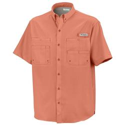 COLUMBIA TAMIAMI II S/S SHIRT BRIGHT_PEACH
