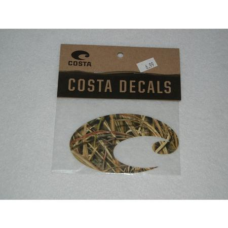 COSTA CAMO LOGO DECAL