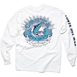 COSTA CLASSIC L/S T-SHIRT WHITE