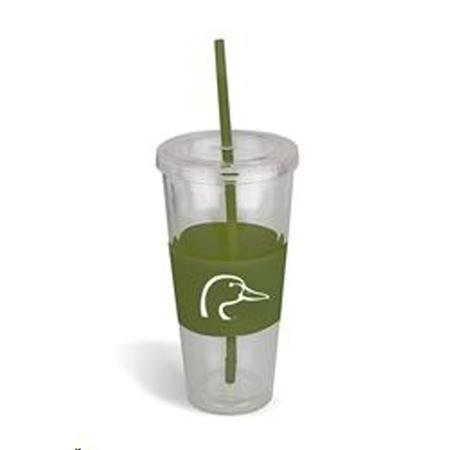AES DU INSULATED CUP W STRAW