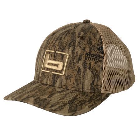 BANDED TRUCKER CAMO CAP