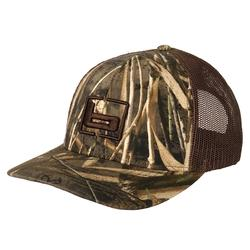 BANDED TRUCKER CAMO CAP MAX5/BROWN
