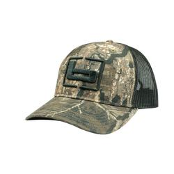 BANDED TRUCKER CAMO CAP TIMBER