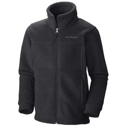 COLUMBIA YTH STEENS MTN FLEECE BLACK