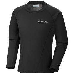 Columbia Youth Baselayer Midweight Crew 2 BLACK