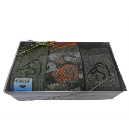 DUCKS UNLIMITED MEN`S GIFT BOX SOCKS