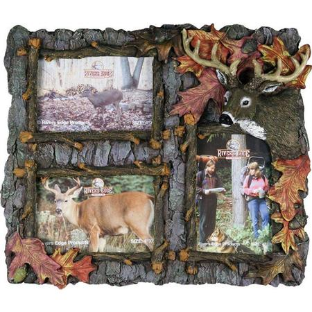 RIVER`S EDGE 3 PICTURE FRAME