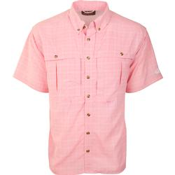 Drake Wingshooter's Plaid Sun Shirt S/S ORCHID
