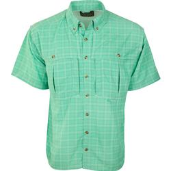 Drake Wingshooter's Plaid Sun Shirt S/S WINTERGREEN