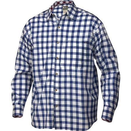 DRAKE ACCENTED GINGHAM SHIRT