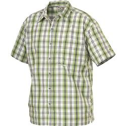 DRAKE WEEKENDER S/S SHIRT GRAY_GREEN_P