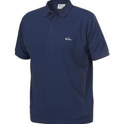 DRAKE COTTON PIQUE POLO NAVY