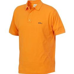 DRAKE COTTON PIQUE POLO ORANGE