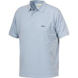 DRAKE COTTON PIQUE POLO POWDER_BLUE