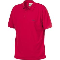 DRAKE COTTON PIQUE POLO RED