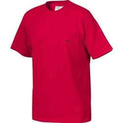 DRAKE COTTON POCKET CREW RED