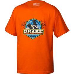 DRAKE YOUTH LABS S/S T ORANGE