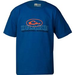 DRAKE YOUTH OVAL S/S T ROYAL