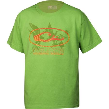DRAKE YOUTH OVAL DUCKS S/S T