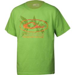 DRAKE YOUTH OVAL DUCKS S/S T SAFETY_GREEN