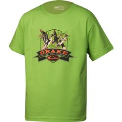 DRAKE YOUTH PINTAILS S/S T SAFETY_GREEN