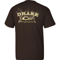 DRAKE SPRIGS S/S T DARK_CHOCOLA