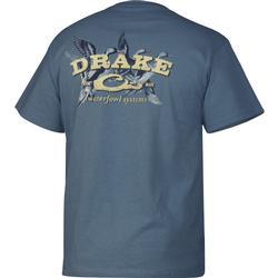 DRAKE SPRIGS S/S T SLATE