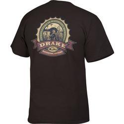 DRAKE BOTTLE CAP S/S T DARK_CHOCOLA