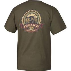 DRAKE BOTTLE CAP S/S T MILITIA_GREE