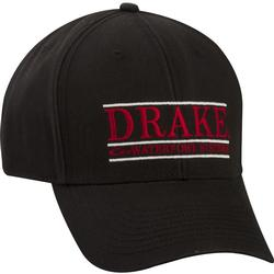 DRAKE BAR LOGO CAP BLACK/RED