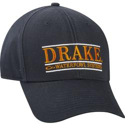 DRAKE BAR LOGO CAP CHOC/ORANGE
