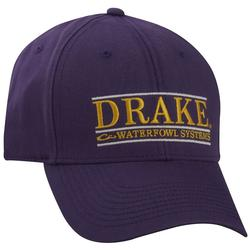DRAKE BAR LOGO CAP PURPLE/YELLO