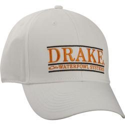 DRAKE BAR LOGO CAP WHITE/ORANGE