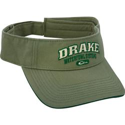 DRAKE SOLID COLOR LOGO VISOR HEATHERGREEN