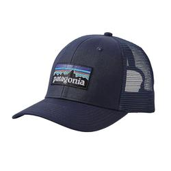 PATAGONIA P6 TRUCKER HAT NAVY_BLUE/NA
