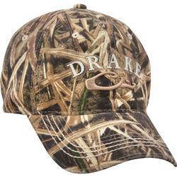 DRAKE 6 PANEL COTTON LOGO CAP BLADES