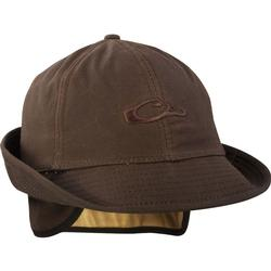 DRAKE WAXED JONES CAP BROWN