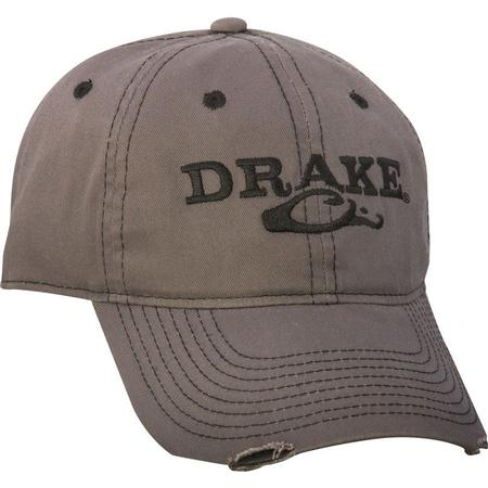 DRAKE SOLID DISTRESSED HAT