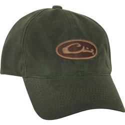 DRAKE 8 OZ WAXED CANVAS CAP BROWN