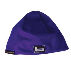 BANDED WOMEN`S BEANIE PURPLE