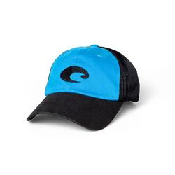 COSTA FITTED STRETC TRUCKER HAT BLUE/BLACK