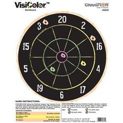 CHAMPION VISICOLOR TARGET DARTBOARD