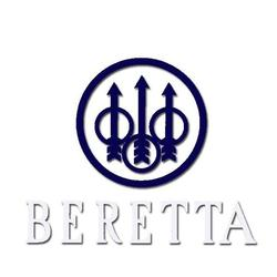 BERETTA WINDOW DECAL BLUE