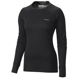 COLUMBIA  W`S HEAVYWEIGHT TOP BLACK