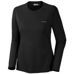 COLUMBIA  W`S MIDWEIGHT TOP BLACK
