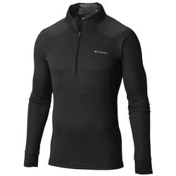 COLUMBIA HEAVYWEIGHT II 1/2 ZIP BLACK
